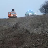 2018-02-06_A96_Holzguenz_Lkw_Autotransporter_Unfall_Polizei_Poeppel_0013