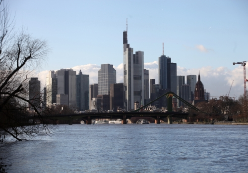 Skyline von Frankfurt / Main, über dts Nachrichtenagentur