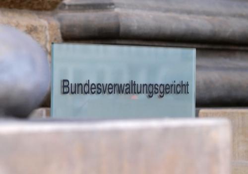 Bundesverwaltungsgericht, über dts Nachrichtenagentur