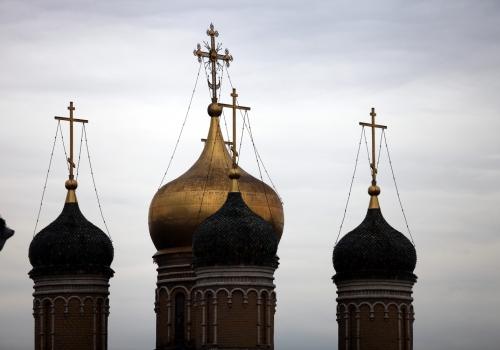Türme einer russisch-orthodoxen Kirche, über dts Nachrichtenagentur