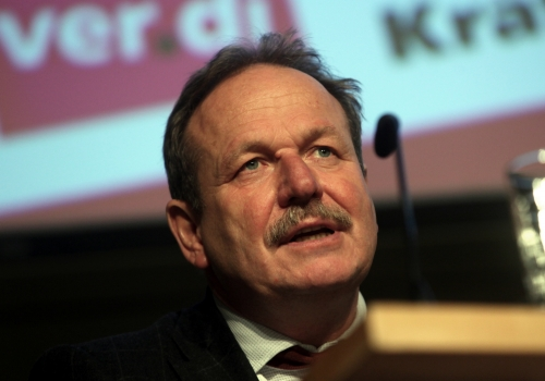 Frank Bsirske, über dts Nachrichtenagentur