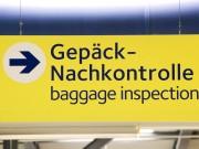 zoll polizei flughafen airport kontrolle