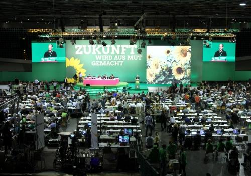 Grünen-Parteitag Juni 2017, über dts Nachrichtenagentur