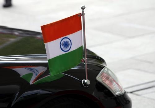 Indische Fahne, über dts Nachrichtenagentur