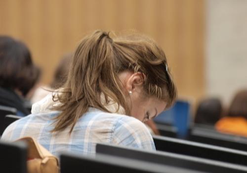 Studentin in einer Universität, über dts Nachrichtenagentur
