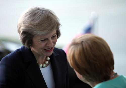 Theresa May und Angela Merkel, über dts Nachrichtenagentur