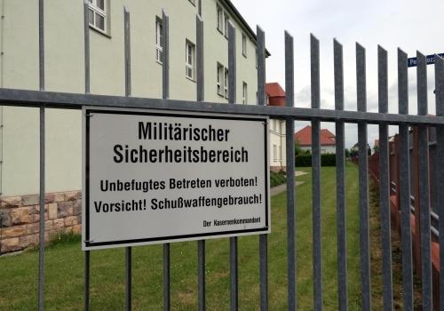 Bundeswehr-Kaserne, über dts Nachrichtenagentur