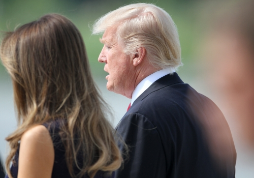 Donald und Melania Trump, über dts Nachrichtenagentur