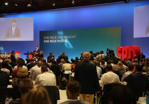 SPD-Parteitag am 22.04.2018, über dts Nachrichtenagentur