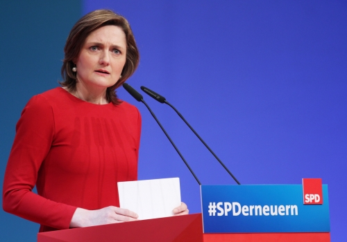Simone Lange am 22.04.2018, über dts Nachrichtenagentur