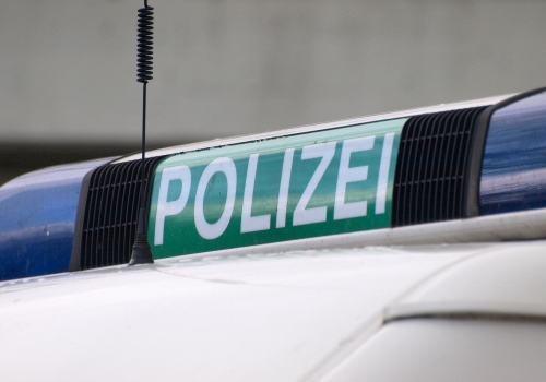 Polizeiwagen, über dts Nachrichtenagentur