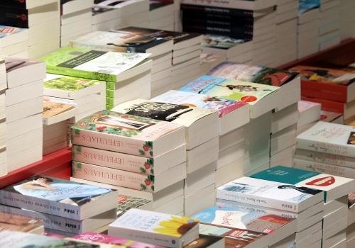 Bücher in einem Buchladen, über dts Nachrichtenagentur