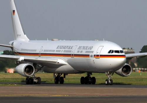 Regierungsjet A340-313X VIP