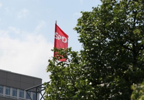SPD-Fahne, über dts Nachrichtenagentur