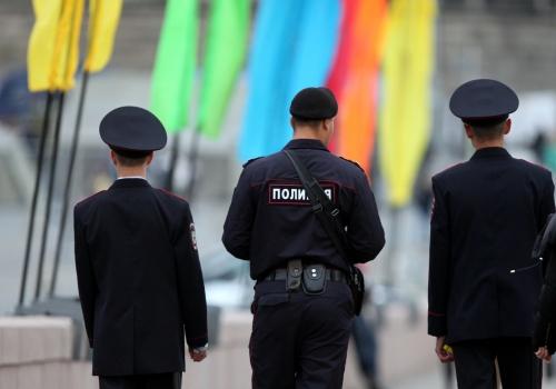 Polizisten in Russland, über dts Nachrichtenagentur