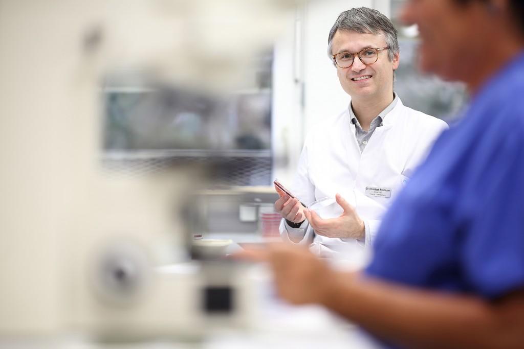 Dr. Christoph Pöhlmann  Foto: Klinikum Memmingen