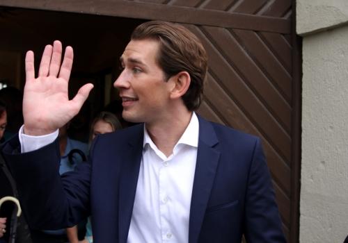 Sebastian Kurz winkt, über dts Nachrichtenagentur