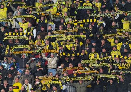 Fans von Borussia Dortmund, über dts Nachrichtenagentur