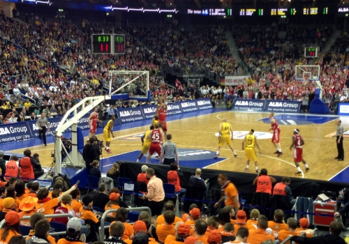 Basketball-Spiel zwischen Alba und dem FCB, über dts Nachrichtenagentur