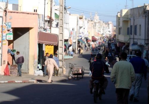 Straßenszene in Marokko, über dts Nachrichtenagentur