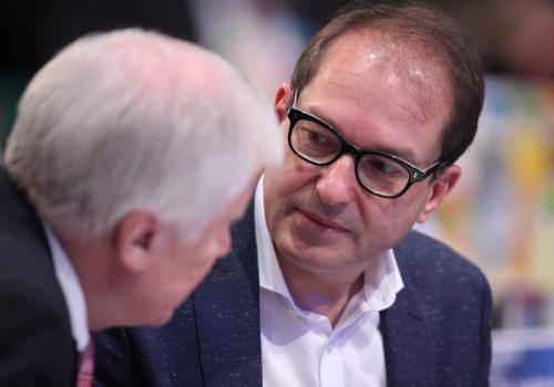 Horst Seehofer und Alexander Dobrindt, über dts Nachrichtenagentur