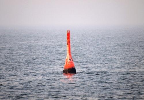 Eine Boje im Meer, über dts Nachrichtenagentur