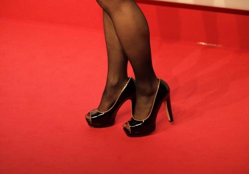 Promi auf einem roten Teppich, über dts Nachrichtenagentur