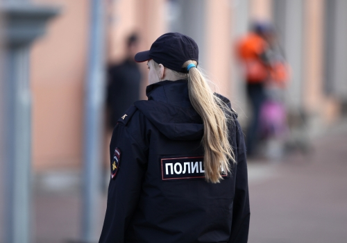 Polizistin in Russland, über dts Nachrichtenagentur