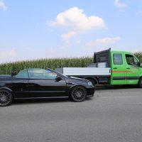 Unfall Mindelheim Gernstall Cabrio Kleinlaster gerammt Bringezu 03.08 (3)