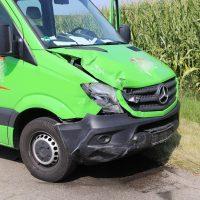 Unfall Mindelheim Gernstall Cabrio Kleinlaster gerammt Bringezu 03.08 (7)