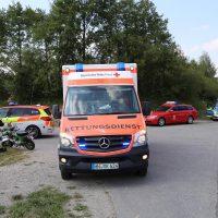 Unfall Mindelheim Gernstall Cabrio Kleinlaster gerammt Bringezu 03.08 (9)