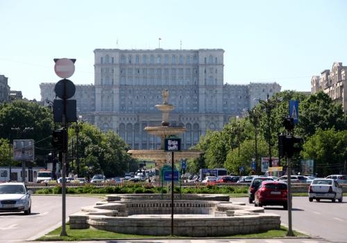 Parlamentspalast in Bukarest, über dts Nachrichtenagentur