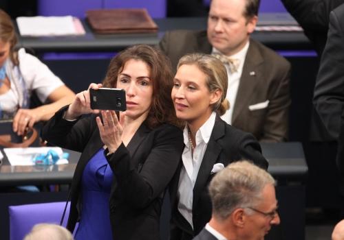 Mariana Harder-Kühnel und Alice Weidel, über dts Nachrichtenagentur