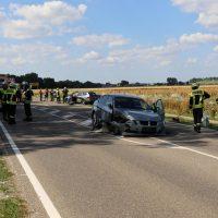 16.07.2019 VU B16 Mindelheim Höhe Lohhof Feuerwehr Rettungsdienst 5 Fahrzeuge mehrere Verletzte (1)