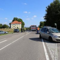 16.07.2019 VU B16 Mindelheim Höhe Lohhof Feuerwehr Rettungsdienst 5 Fahrzeuge mehrere Verletzte (16)