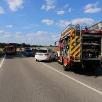16.07.2019 VU B16 Mindelheim Höhe Lohhof Feuerwehr Rettungsdienst 5 Fahrzeuge mehrere Verletzte (32)