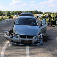 16.07.2019 VU B16 Mindelheim Höhe Lohhof Feuerwehr Rettungsdienst 5 Fahrzeuge mehrere Verletzte (33)