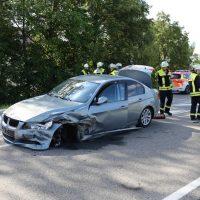 16.07.2019 VU B16 Mindelheim Höhe Lohhof Feuerwehr Rettungsdienst 5 Fahrzeuge mehrere Verletzte (5)