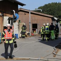 2019-08-11_Biberach_Mittelbuch_Biogasanlage_Brand_BHKW_Feuerwehr_Poeppel_0010