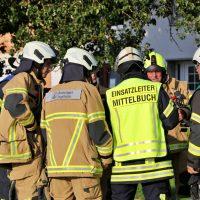 2019-08-11_Biberach_Mittelbuch_Biogasanlage_Brand_BHKW_Feuerwehr_Poeppel_0027
