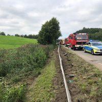 22.08.2019 Unfall schwer Wangen LKW A96 (4)