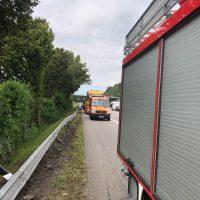 22.08.2019 Unfall schwer Wangen LKW A96 (7)
