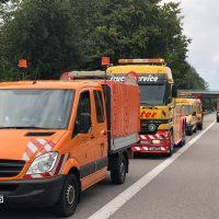 22.08.2019 Unfall schwer Wangen LKW A96 (8)
