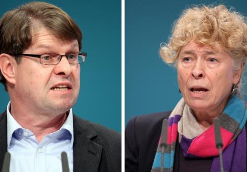 Ralf Stegner und Gesine Schwan, über dts Nachrichtenagentur