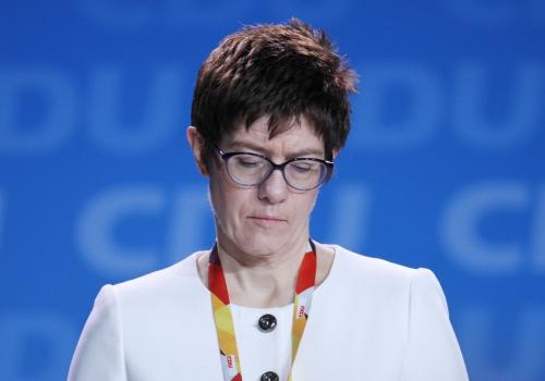 Annegret Kramp-Karrenbauer, über dts Nachrichtenagentur