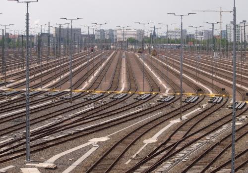 Gleisanlage in Halle (Saale), über dts Nachrichtenagentur