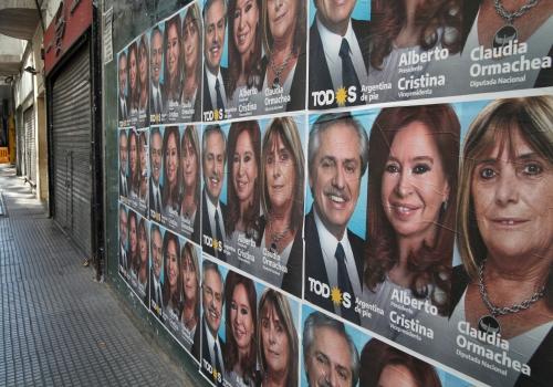Alberto Ángel Fernández, Cristina Fernández de Kirchner, Claudia Ormachea, über dts Nachrichtenagentur