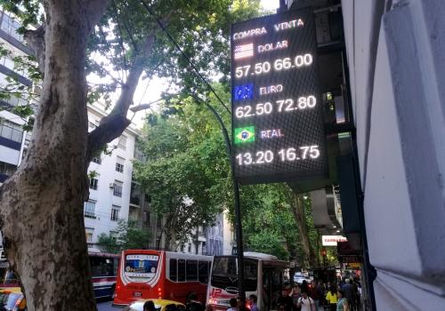 Wechselkurse in Argentinien, über dts Nachrichtenagentur