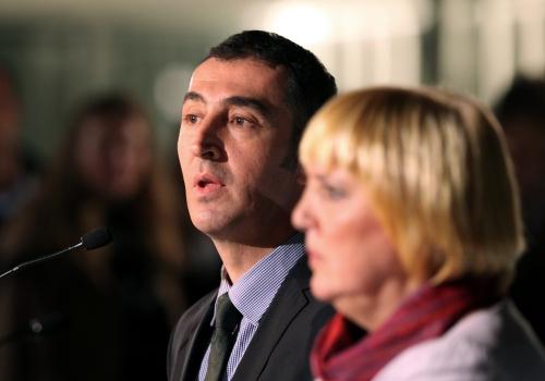 Cem Özdemir und Claudia Roth, über dts Nachrichtenagentur