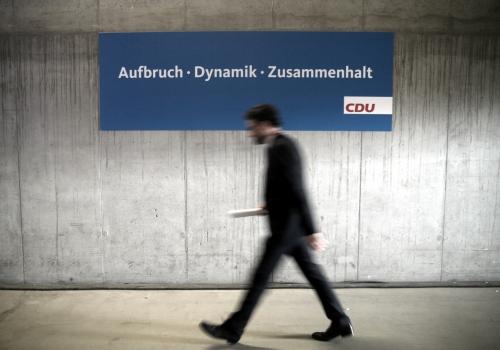 CDU-Slogan